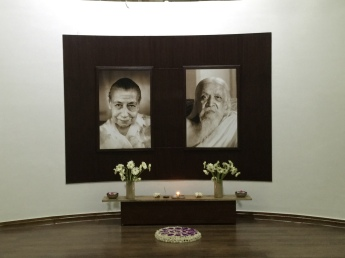 Inside the meditation room