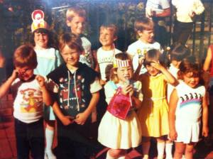 Guess which one is me? Circa. 1985-86.