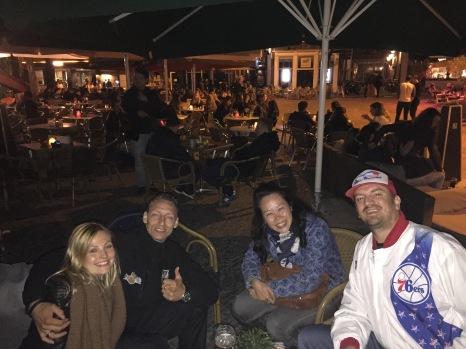 Chantelle, Ricardo, Anna and myself
