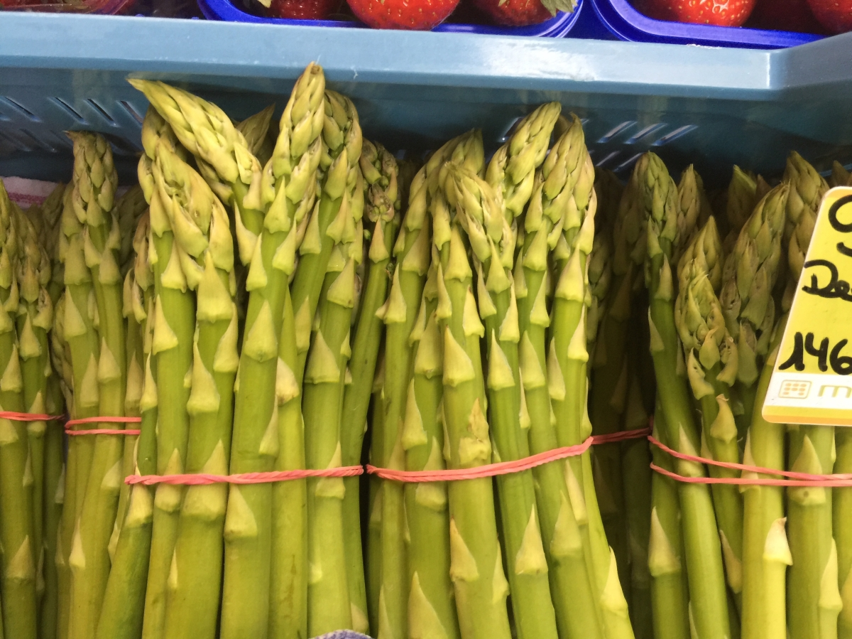 Asparagus: A prince amongst vegetables