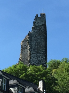 All that remains of Burg Drachenfels