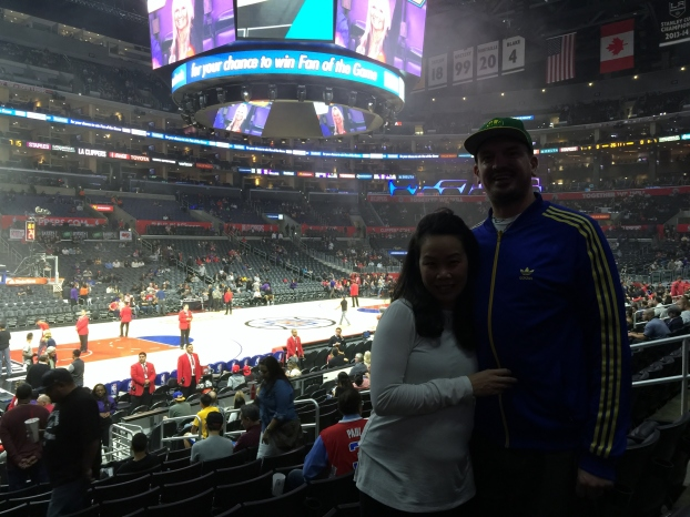 Inside the Staples Center