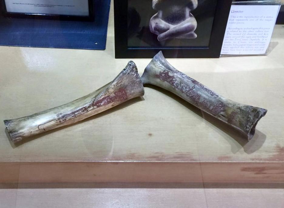 Engraved bones