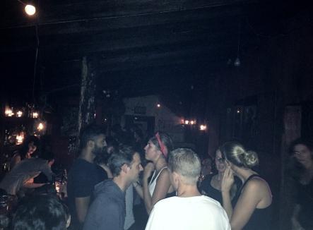 Inside the main bar at Café No Sé