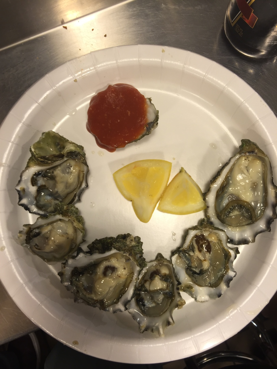 If you're ever in Seattle, get the oysters!