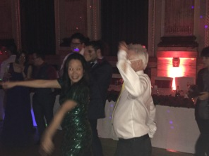 Anna's uncle Patrick burning up the dance floor