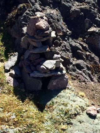 A strange stone construction