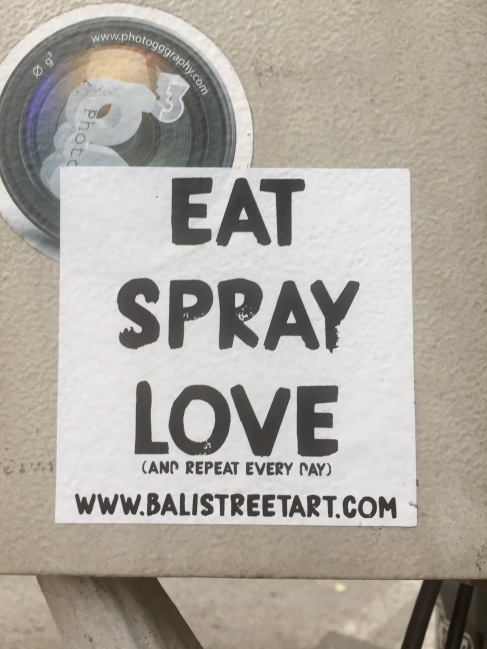 Spray love?