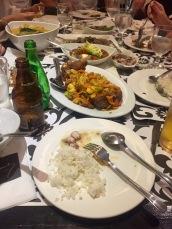 Part of dinner