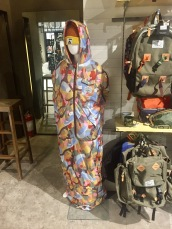 Yes, that is a sleeping bag jumpsuit