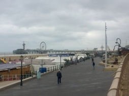 The view of the pier