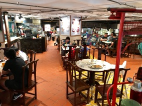 A small portion of the hawker centre