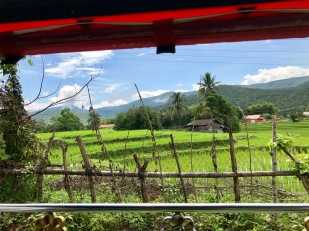 Out the other side of the tuk-tuk
