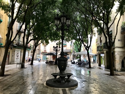 A lamppost