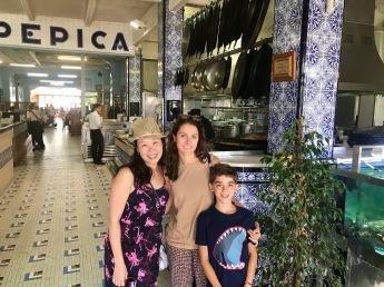 Anna, Rosa and Lucas, Roberto's son