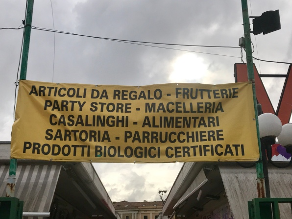 Some of the services available at the barely-open market
