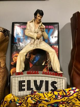 Elvis wasn't leaving that building