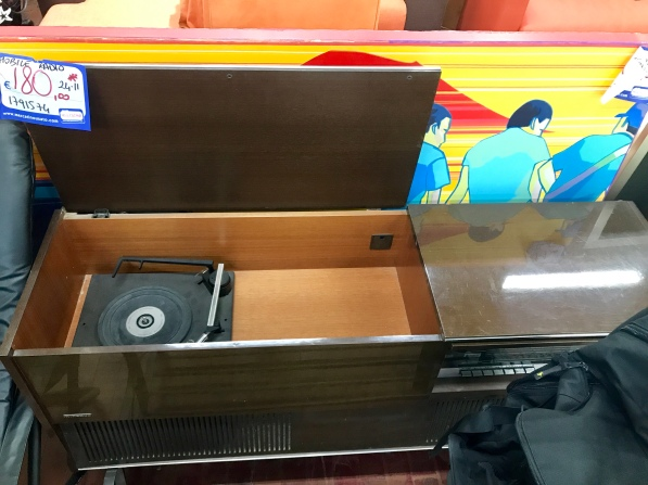 Old record player