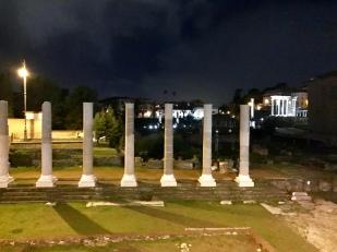 Some columns near Basilica Aemilia