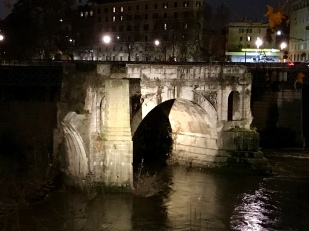 What's left of a bridge