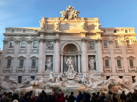 More of Trevi Fountain