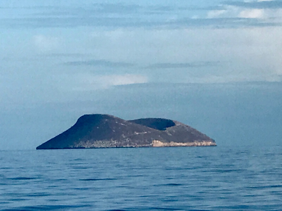 Another one of the islands in the distance