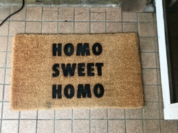 "I think it was meant to say ""Home Sweet Home"""